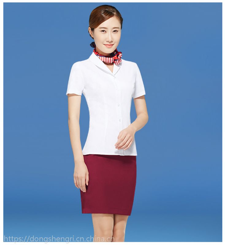 湖南航空职业女裤套装空姐制服高铁制服职业套装工作服