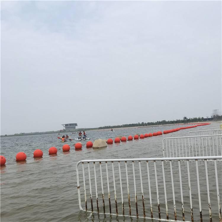宁波生态河道治理拦污浮筒 水库入水口拦污浮漂