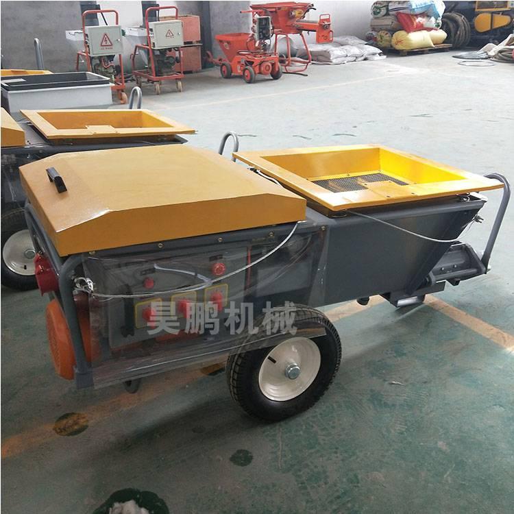 新型保温砂浆喷涂机的特点厂家介绍