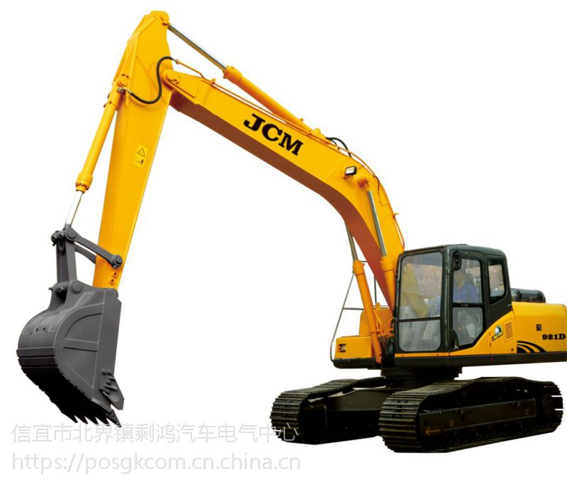 信宜小松挖掘机电路大臂动作慢无力维修