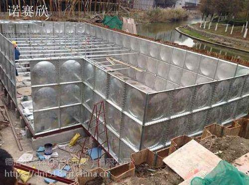 诺赛欣恩施 不锈钢消防水箱价格/屋顶水箱保温