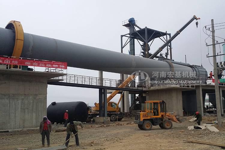 辽宁新型环保白灰窑煤气助燃风配比解说