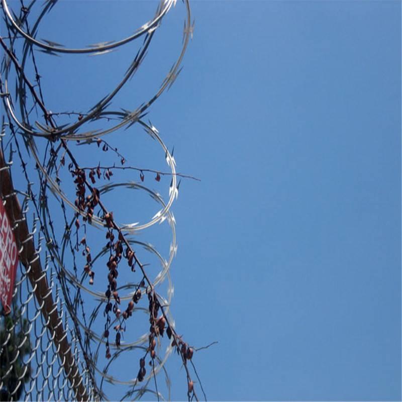 刀片刺绳卡子 陕西刀片刺绳护栏 刺丝围栏