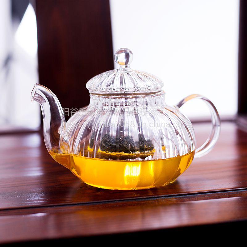阳谷亿泉茶具玻璃茶具青岛茶具直销高硼硅玻璃茶具