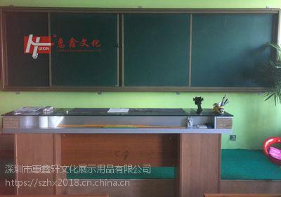 中山推拉绿板D阳江挂式铝合金边框绿板F升降教学绿板