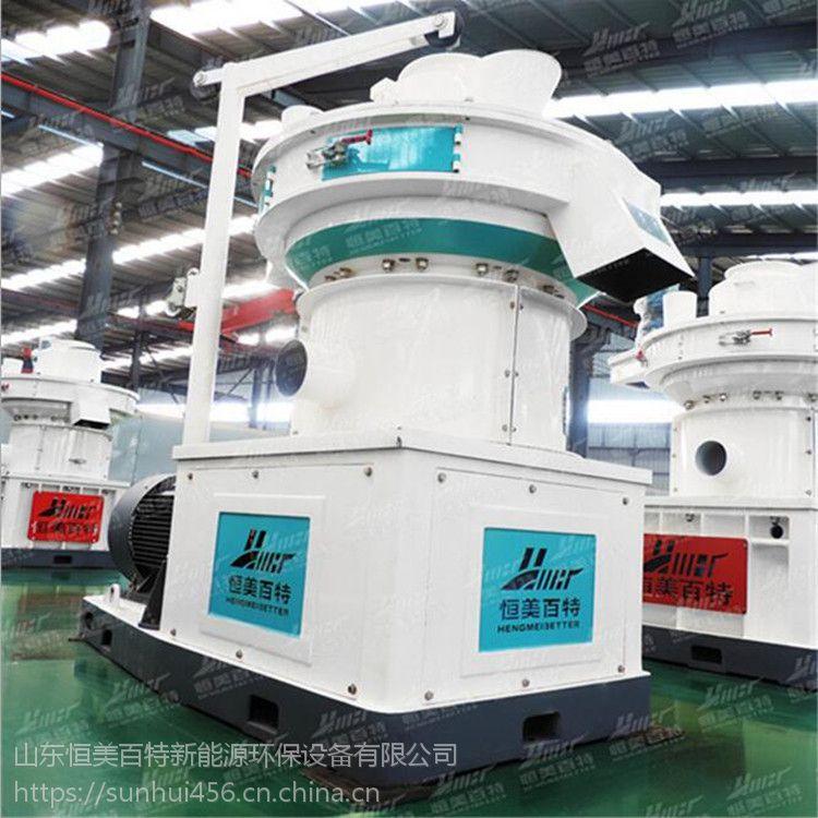 颗粒燃料颗粒设备 成套木屑颗粒机生产线 保修一年质量保证恒美百特