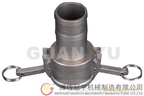 厂家直供扳把式C型不锈钢快速接头  CAMLOCK快速接头