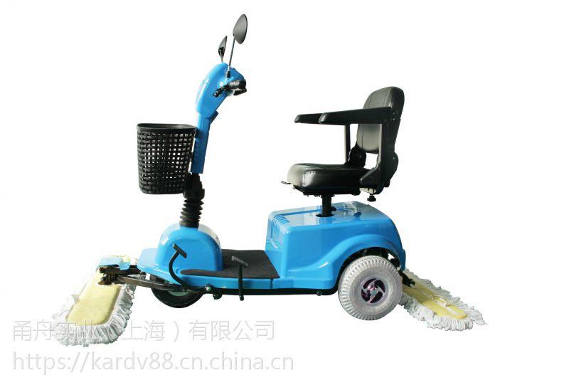 商场物业保洁用驾驶式尘推车,依晨充电式尘推车YZ-600