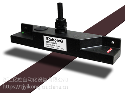 PWM、RS232、USB或CANbus接口MGS Roboteq磁导引传感器