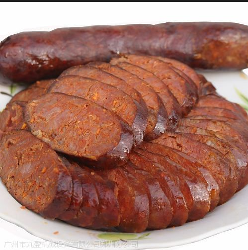 台湾腌菜萝卜切斜片机 香肠加工切斜片机 牛肚全自动斜切机