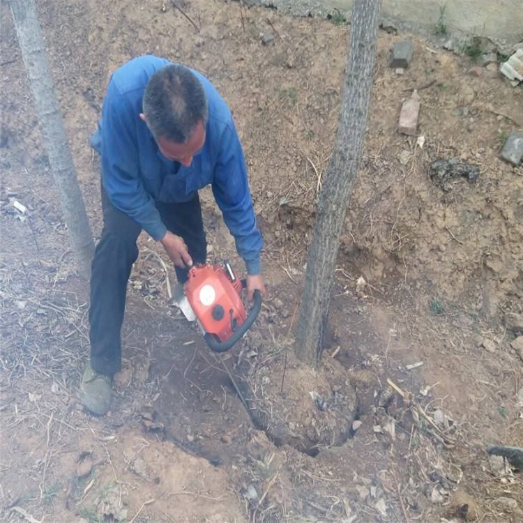 客户反馈效果好的挖树机 树木移栽用挖树机润众