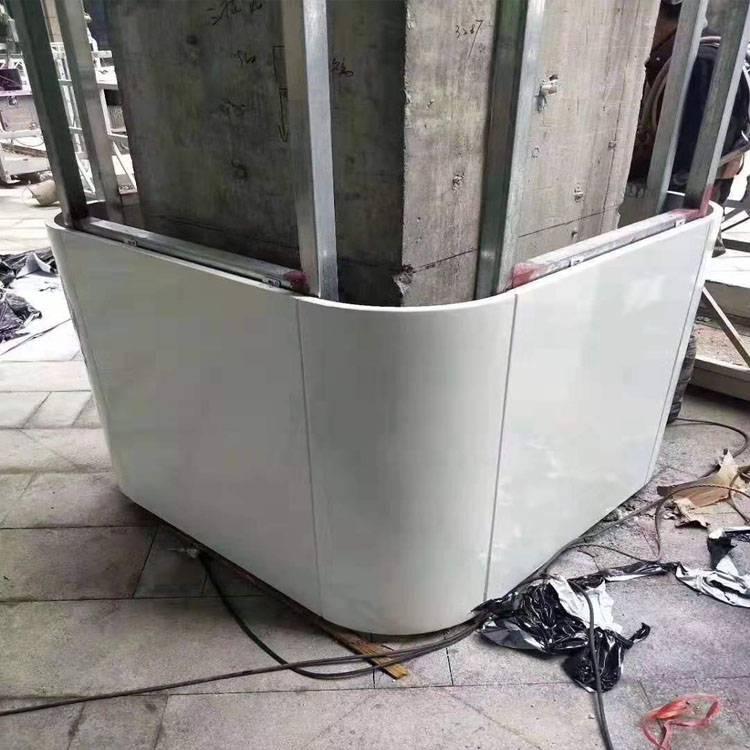 定制造型铝单板天花 2.0厚氟碳铝合金单板价格_欧百得