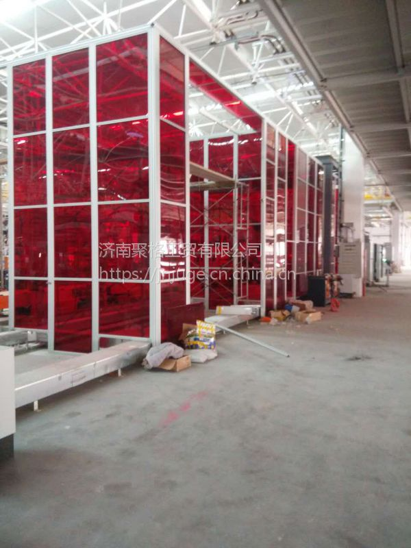 《工业铝型材车间围栏》铝型材机器人围栏 价格、防护栏报价