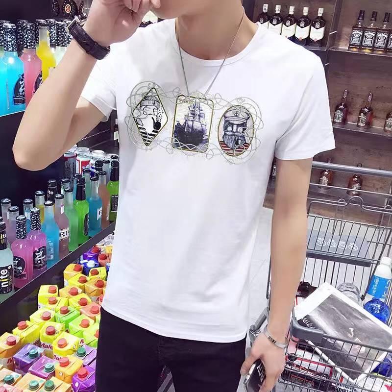 湖南长沙哪里有便宜T恤批发市场韩版时尚宽松T恤