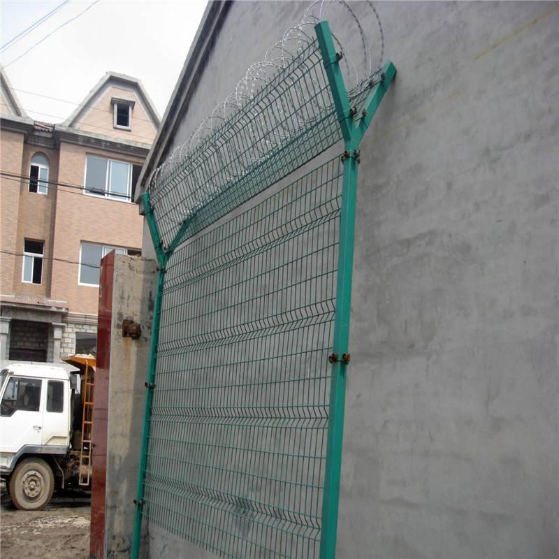 厂区围网 开发区隔离网 道路铁丝网