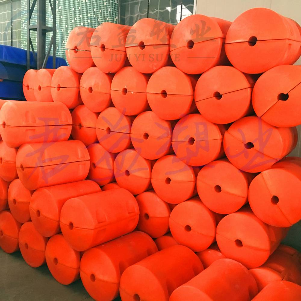 连云港环保浮筒 直径500*750两半体浮筒批发
