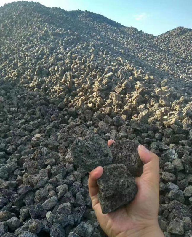 诚鑫厂家供应供应 滤料污水处理火山石 基质火山石