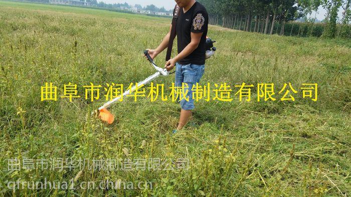 小区草坪修剪机 不用弯腰的割草机 背负式锄草机图片