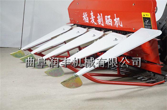 水稻割晒机 旱田水稻割晒机 润丰质保两年收割机