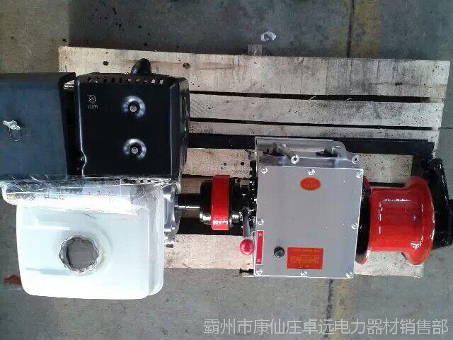 快速绞磨机 双变速箱 手拉启动轴传动绞磨机霸州厂家直供