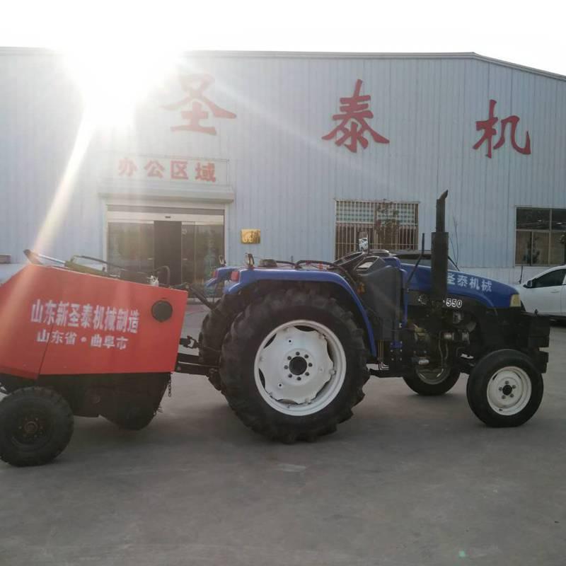 捡拾麦秸玉米秸秆打捆机 麦草打包机 捡拾打捆机厂家直销