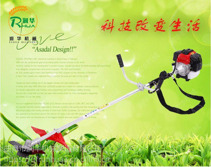 自走式草坪机 润华 园林灌木打草机 农用小型除草机