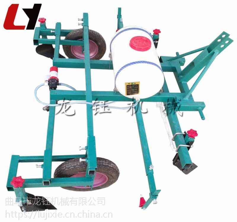 定做铺地模机械 拖拉机带花生播种覆膜机