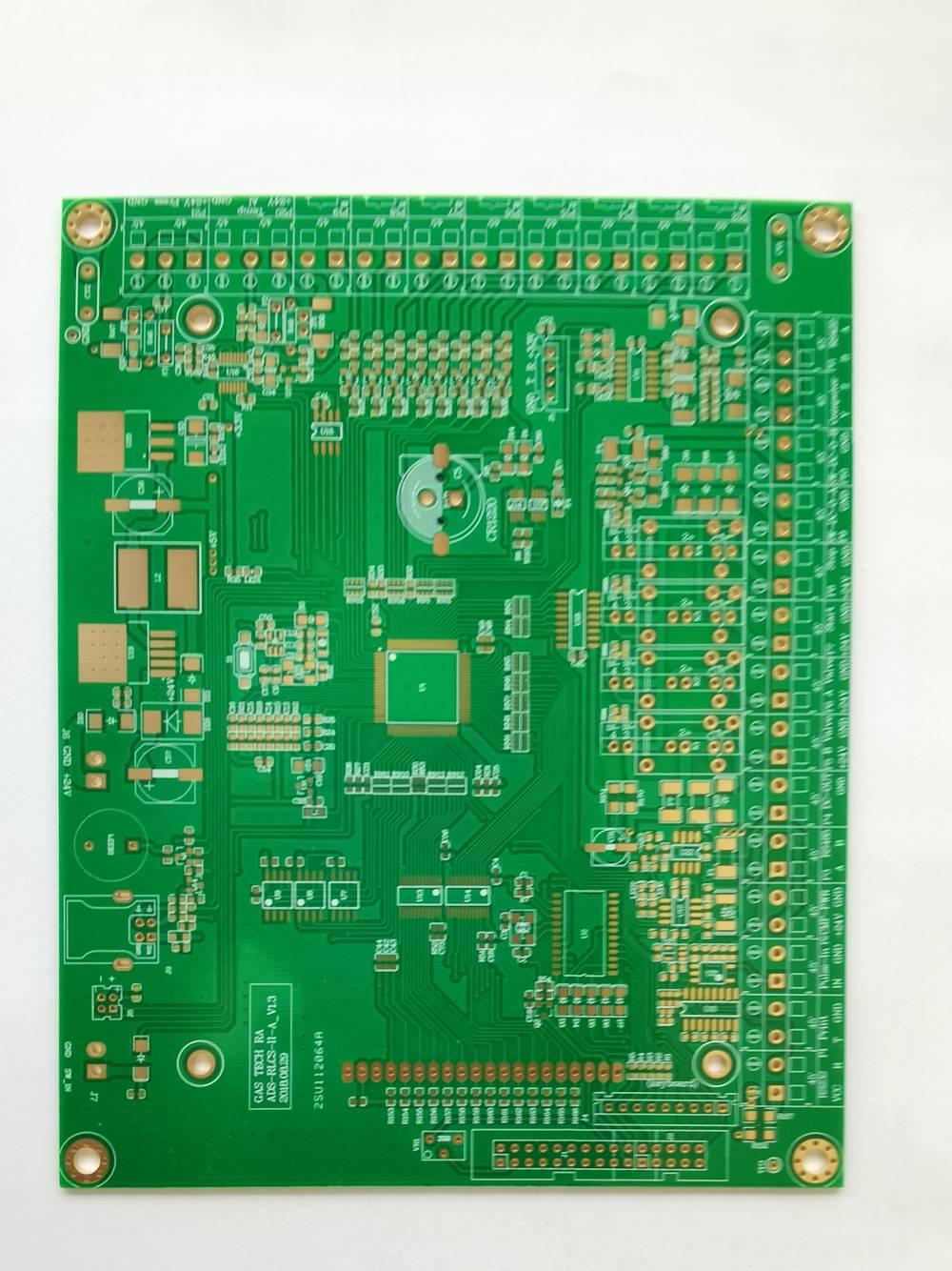 建滔FR4材质覆铜刚性PCB双面沉金线路板