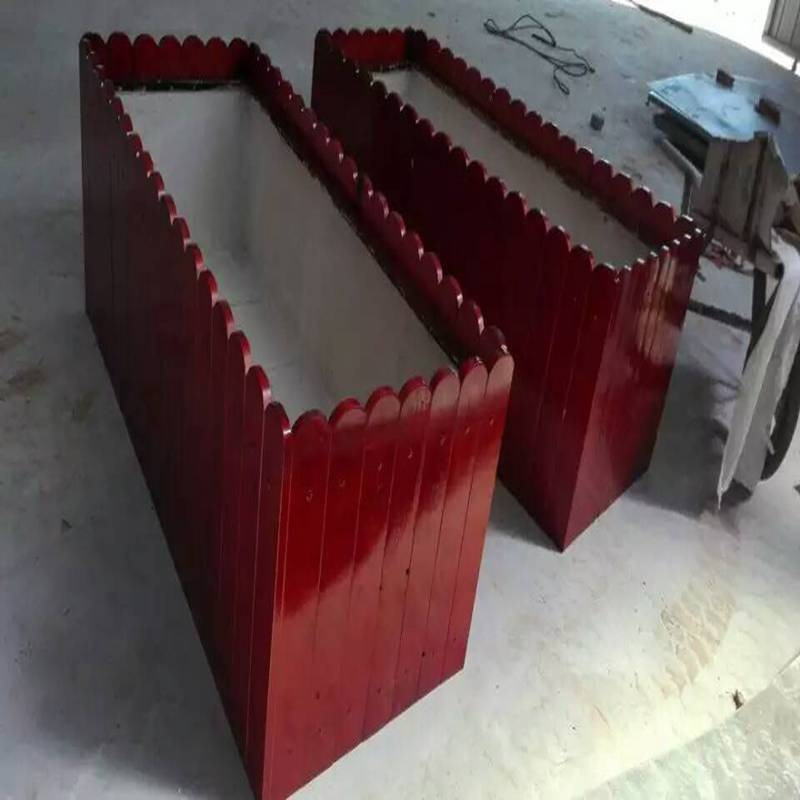 清远实木花箱生产制造厂家,实木组合花箱厂家,厂家
