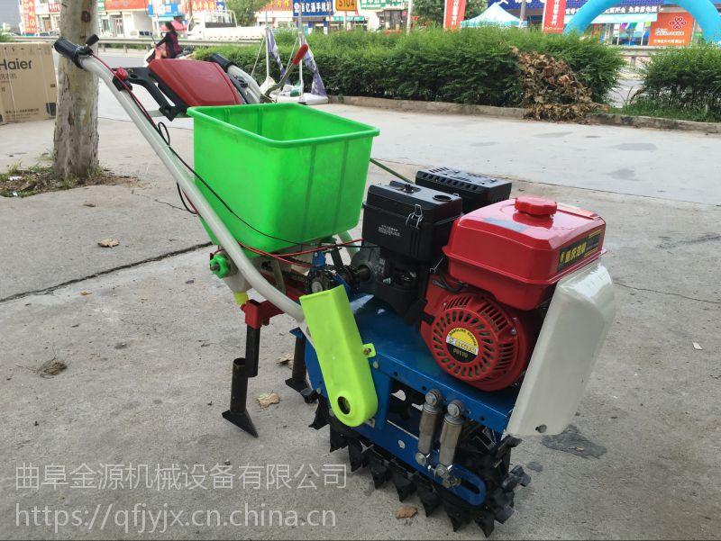 多用途手推式蔬菜精播机 花生播种机玉米播种机