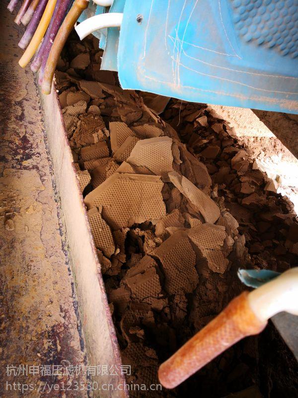 防港城码头建设打桩泥水干堆脱水机