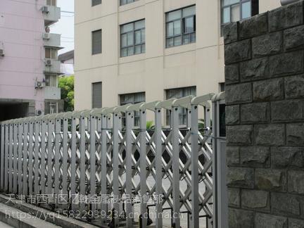 天津周边安装伸缩门 电动伸缩门维修 定做电动门