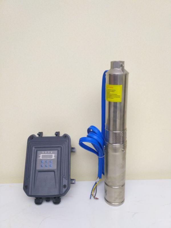 井用高扬程抽水机 太阳能直流潜水泵 永磁同步电机高效率光伏水泵
