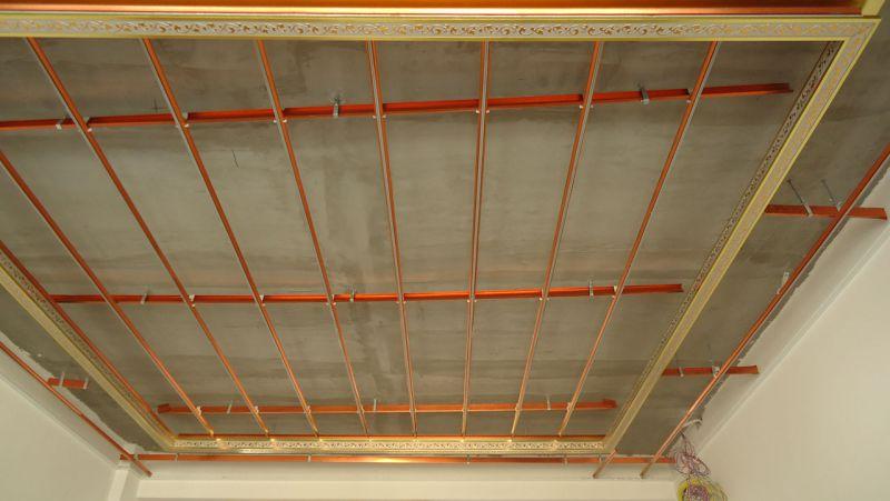 二级吊顶结构�_客厅 餐厅厨卫 卧室集成吊顶 复式 二级 错层专用铝梁厂家直销