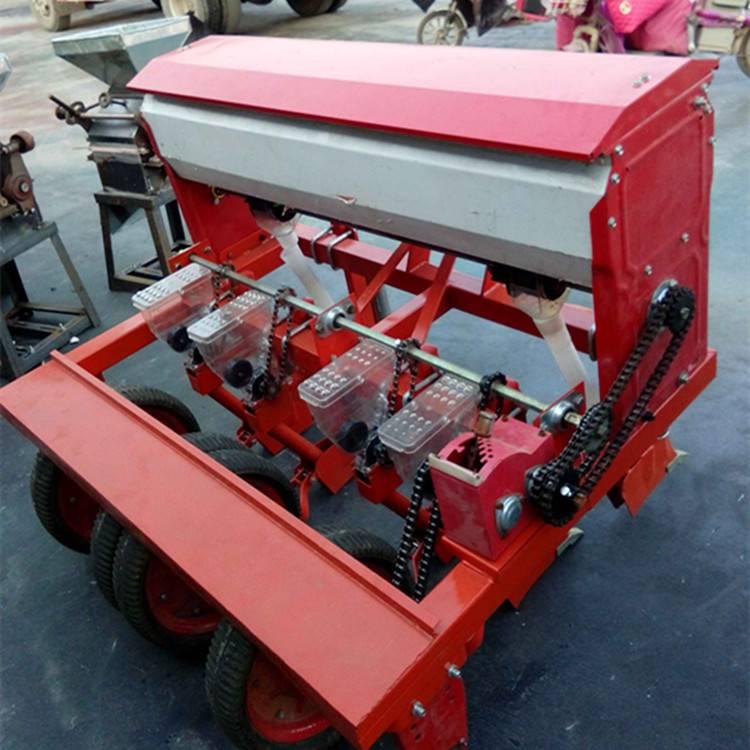 大型蔬菜谷子播种机 圣鲁四轮拖拉机配套精播机