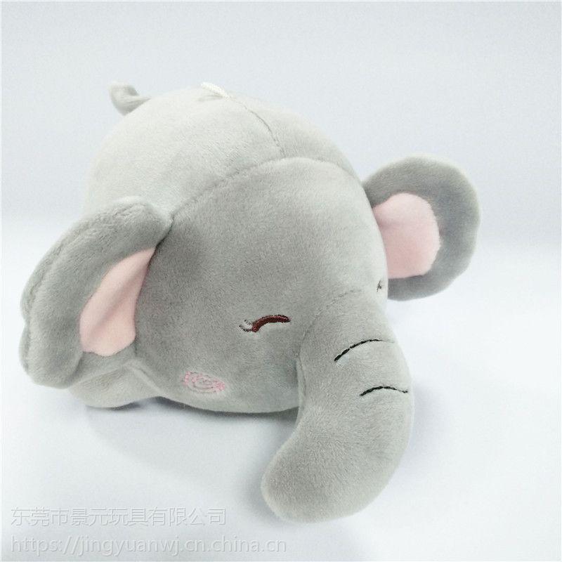大象毛绒玩具布艺玩偶可来图打样设计 OEM加工定制生产厂家