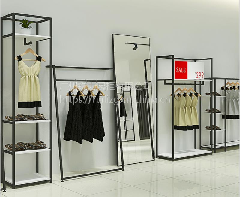 广州锐力展柜 定制裤子展示柜商场服装店展柜服装架男女装衣柜