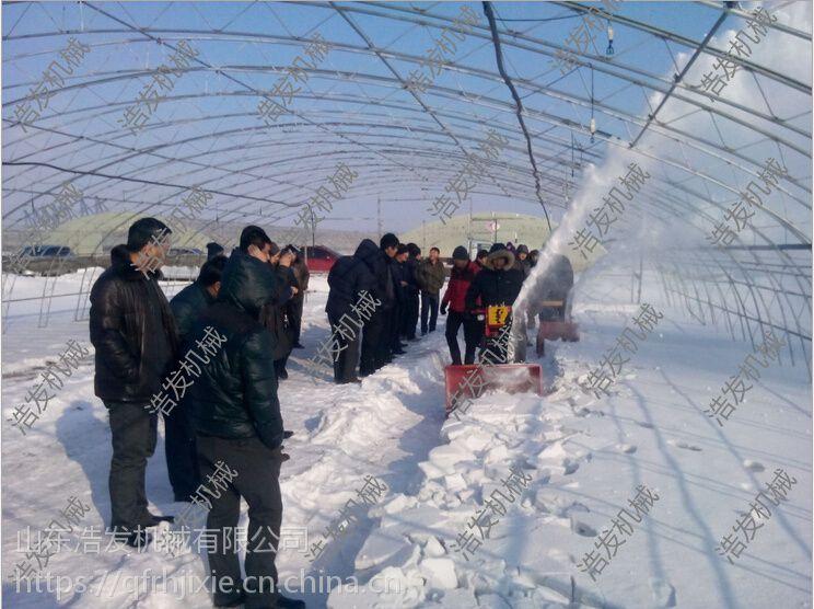 农用大棚抛雪机 学习操场清理雪专用机 浩发