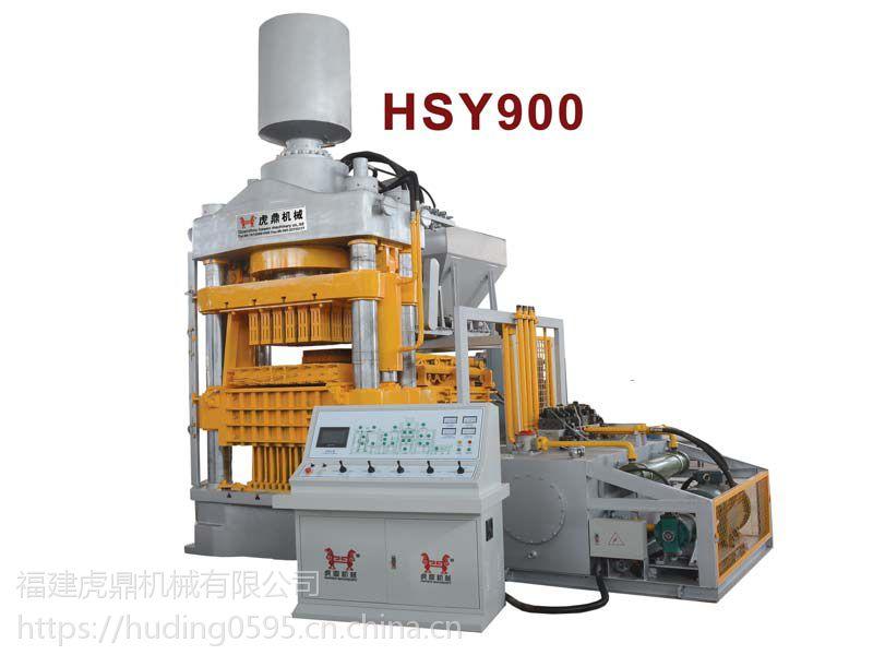 抚顺600吨静压砖机蒸压粉煤灰砖机虎鼎空心砖机压力大效果好