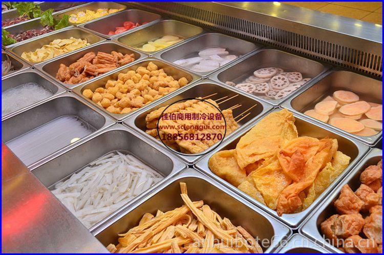 火锅牛肉自助v火锅柜开放式卧式风冷做成鸡胸曝光肥牛肉怎样自助仿海鲜图片