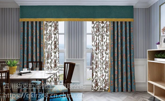 成都窗帘装饰|成都窗帘设计|7克拉华而不贵,时尚品味