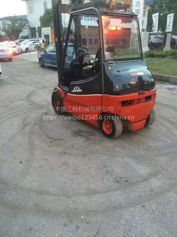 厂家供应 二手林德电动叉车 林德平衡式电动叉车 3吨