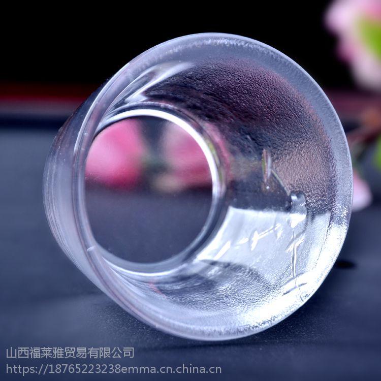 森系复古品茗用具 彩色茶杯碗 玻璃杯子