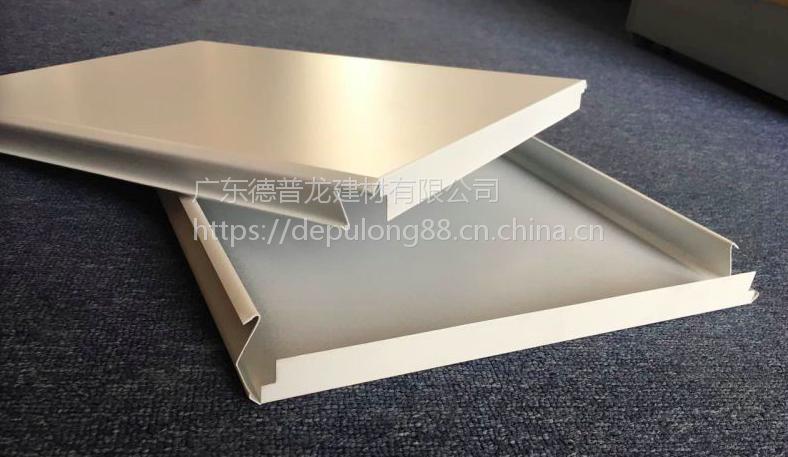 贵州六盘水加油站罩棚铝扣板_型号S型_300宽长条形防风铝板