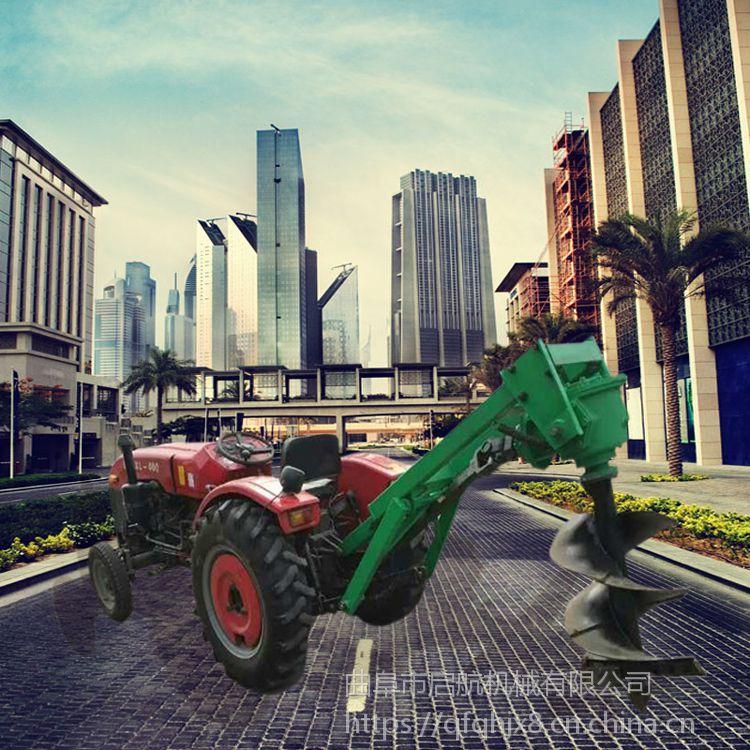 葡萄施肥挖坑机 水泥杆子打洞机厂家