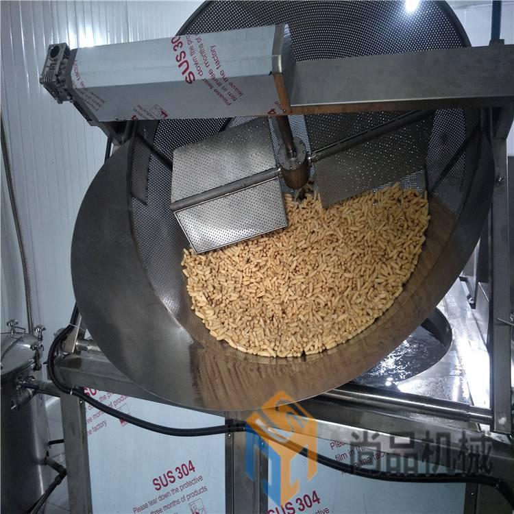 豆角酥油炸锅 自动搅拌自动出料式电热油炸锅 尚品机械