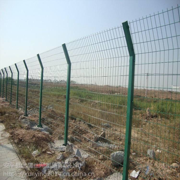 双边丝隔离栅定做 包塑铁丝围栏生产厂商 咸阳市光伏发电装饰护栏