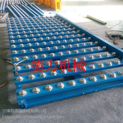 易操作 易维护 成本低 不锈钢滚珠输送机输送平台 万向球输送机