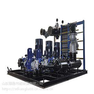 山东板式换热机组管子与管板材料的硬度差