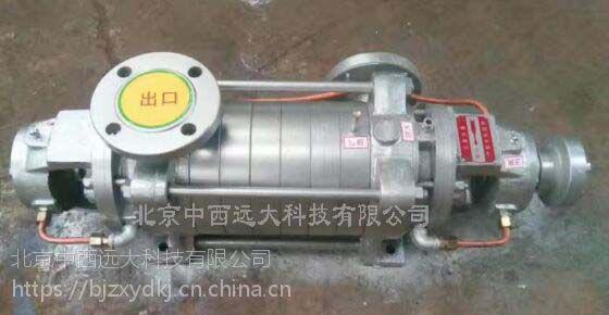 中西(LQS)蒸汽增压泵 (7段) 型号:HA12-ZQR-8库号:M406409